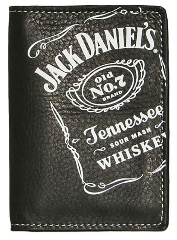 New - Black Trifold Wallet, Whiskey Collection