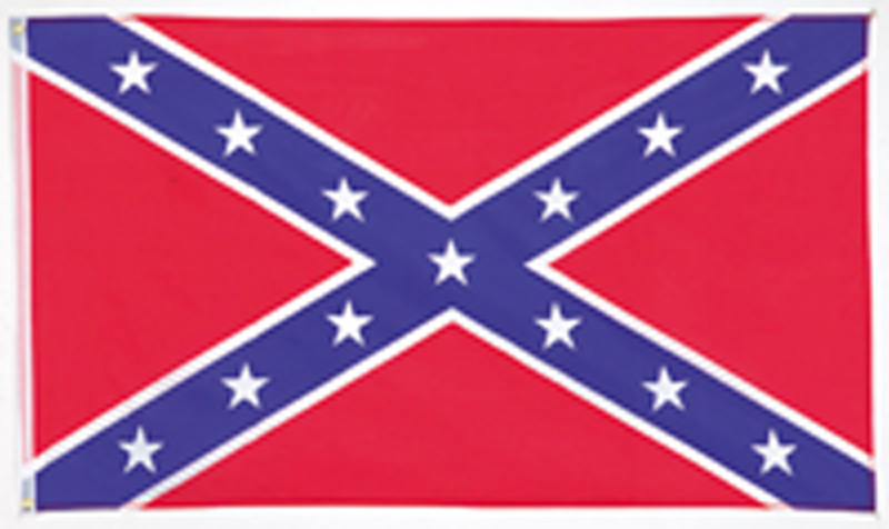 New Rebel Flag 3' x 5'  heavy weight- wo  z