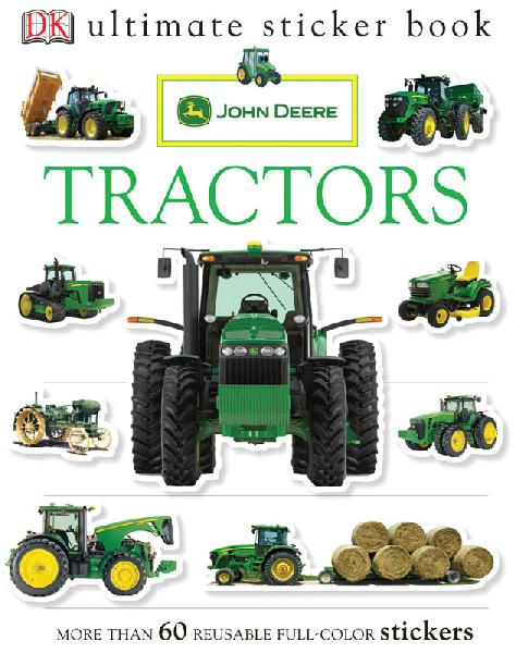 Sticker Book -  John Deere Tractors