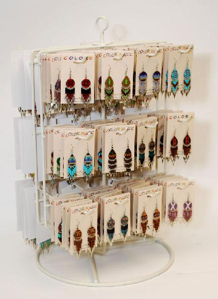 Earring Display - FREE w purchase of 144 earrings (NOT belt disp) - earrings not included.  FREE if you purchase 144 pair of earrings