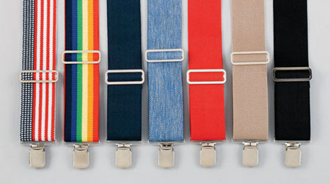 Suspenders - Set 1, Made in the USA
