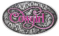 Special - New  Cowgirl Western Buckle - Made in USA 4 x 2-1/2 z
