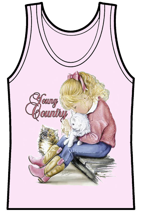 Ladies Tank Top Young Country