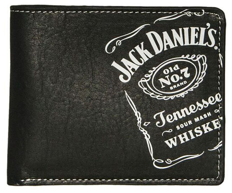 New Black Billfold, Whiskey Collection