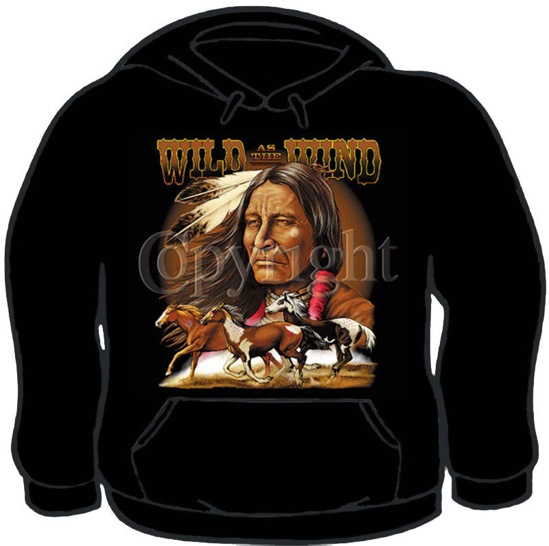Wild As The Wind Hoodie