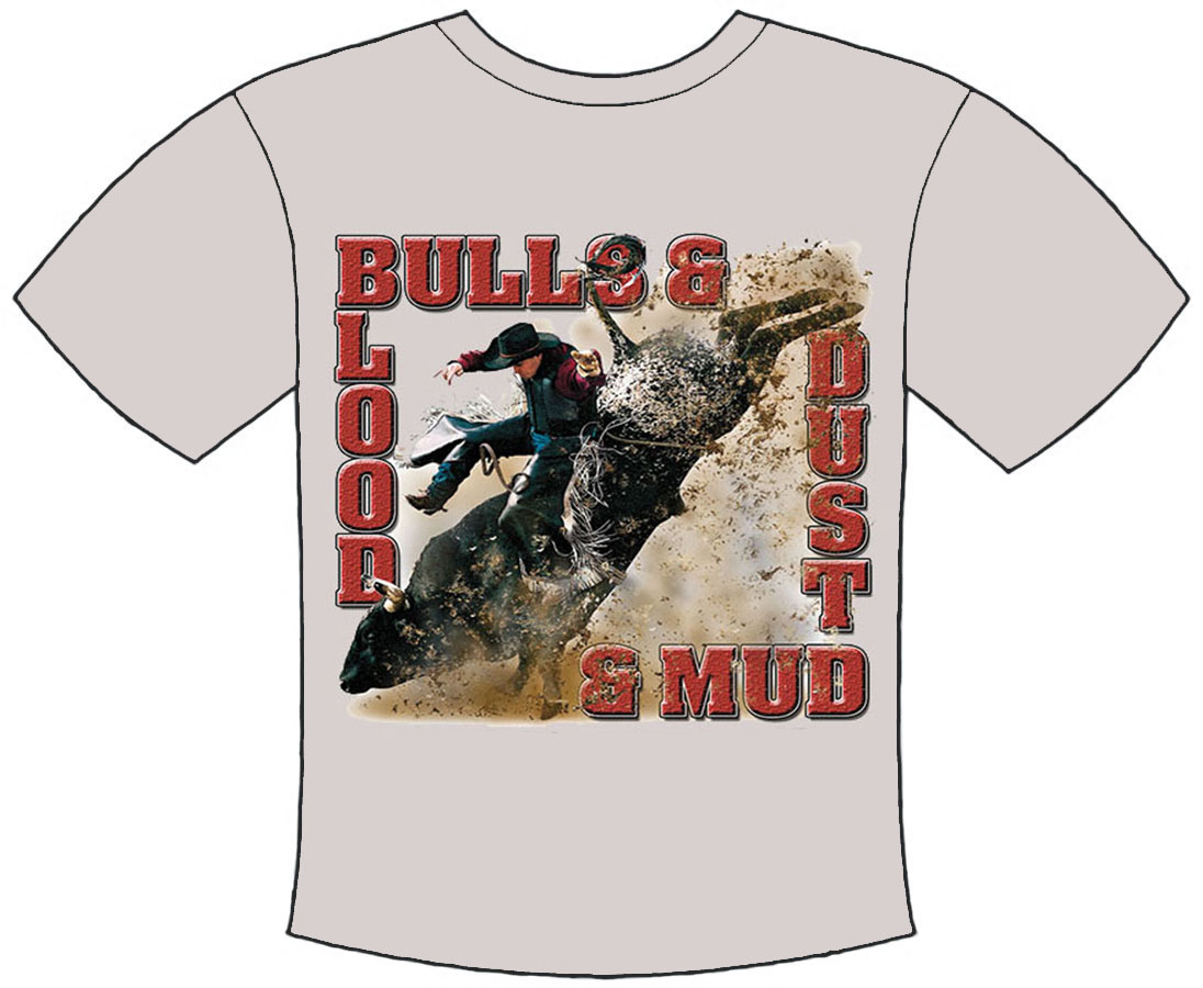 Bulls Blood Dust An Mud T-Shirt