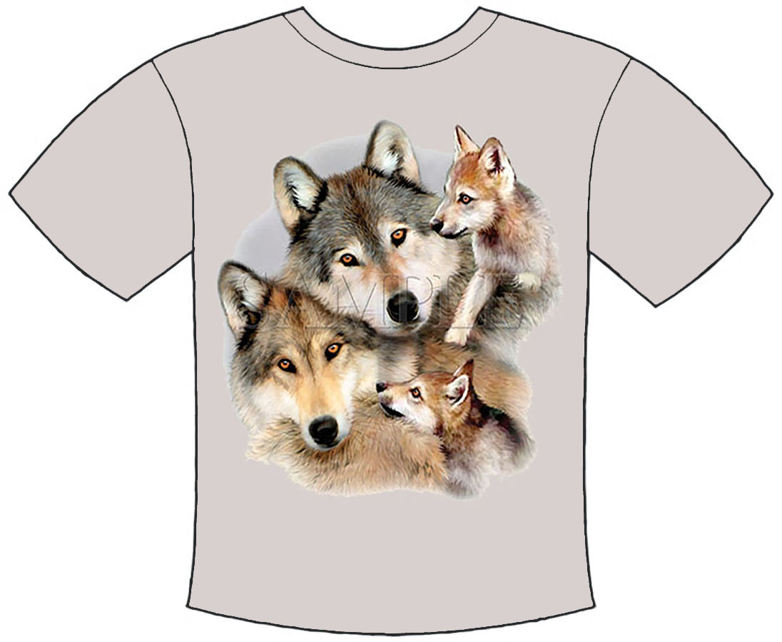 Wolf Family  T-Shirt