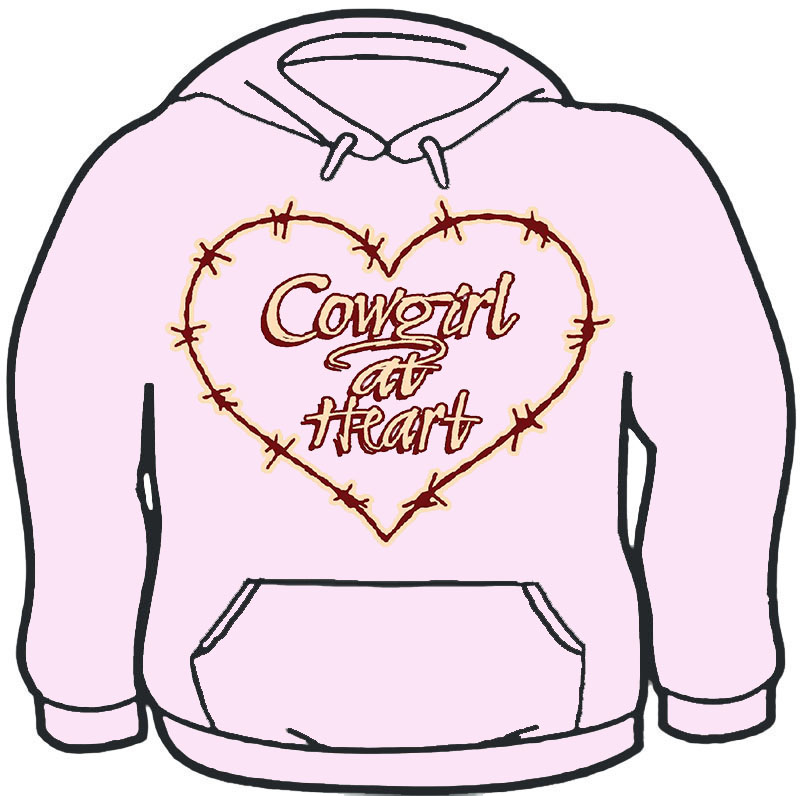 Cowgirl at Heart Hoodie
