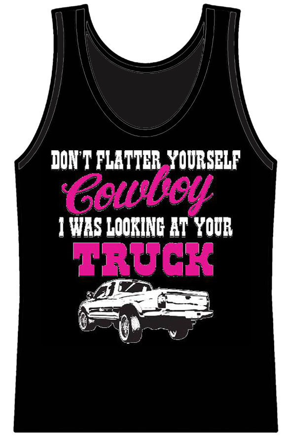Looking at yourTruck Ladies Tank Top