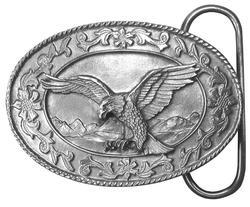 29% Off Special  - Small Eagle Belt Belt Buckle 2-3/8 x 1-5/8  wo