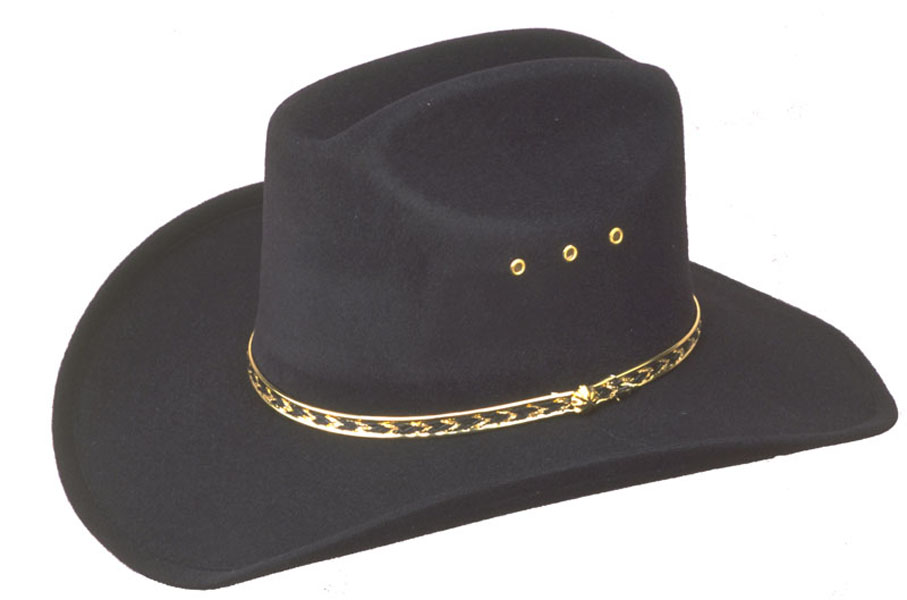 42% Off - SELECT sizes KIDS  Black Faux Felt Cowboy Hat - Sizes