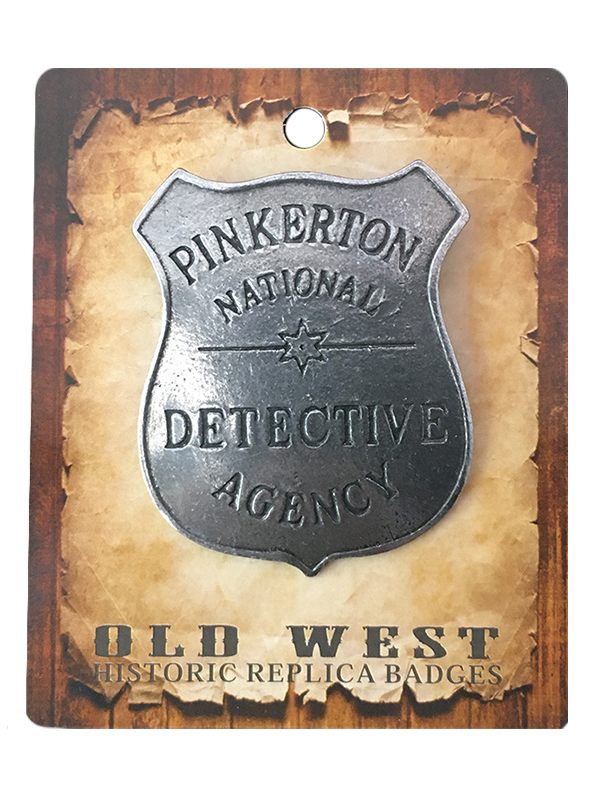 Badge - Pinkerton National - USA Made