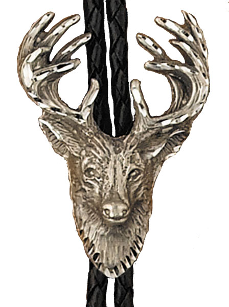 Special - Stag Bolo Tie Made in the USA z Stock Reduction Sale