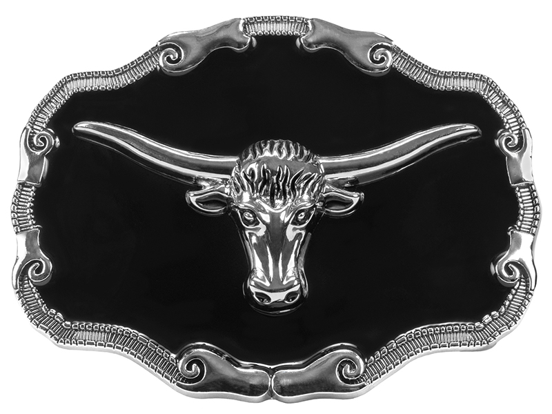 Belt Buckle - Steer Head