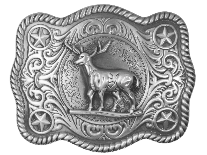Belt Buckle - Standing Buck