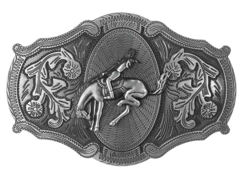 Belt Buckle - Oversized - Rodeo Rider