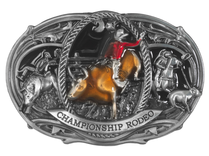Belt Buckle - Championship Rodeo