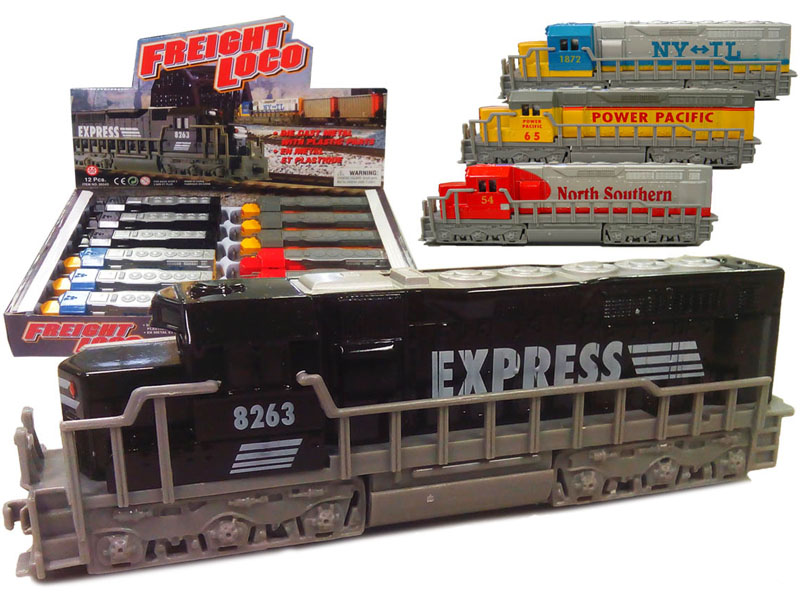 Train - Freight Locomotive - Assorted Display