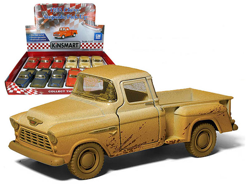 Truck - 1955 Chevy Step-side Pickup Muddy - Assorted Display