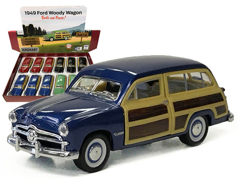 Car - 1949 Ford Woody Wagon - Assorted Display