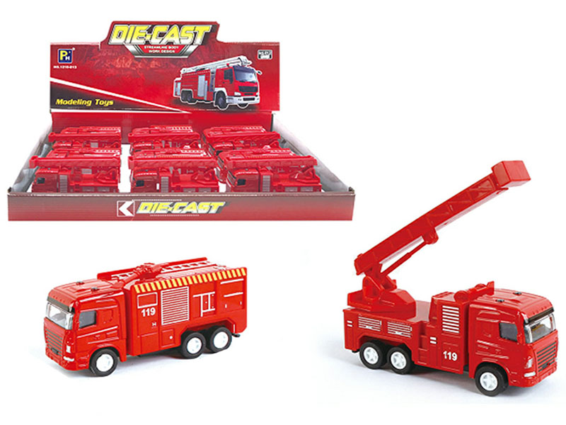 Truck - Fire Engine Series - Assorted Display