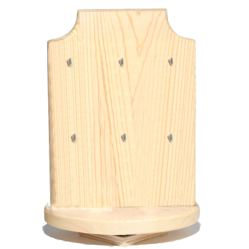 Display - Earring - Wooden