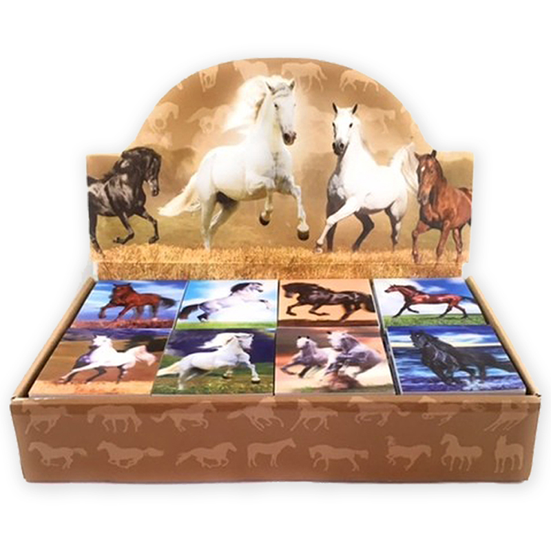 3D Horse Notepad Display - 80 assorted *WILL BE DISCONTINUED