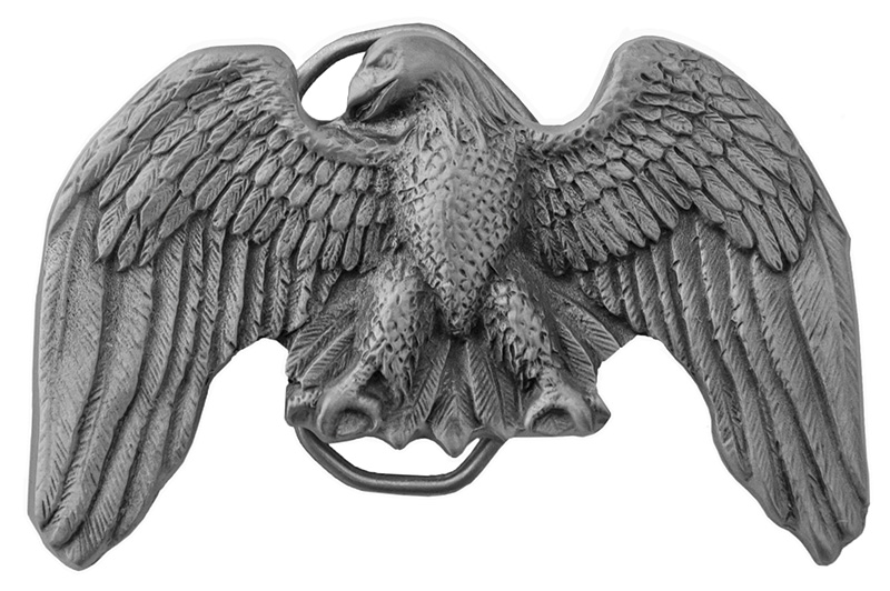 New - Eagle Belt Buckle, 3-1/2 x 2-1/4