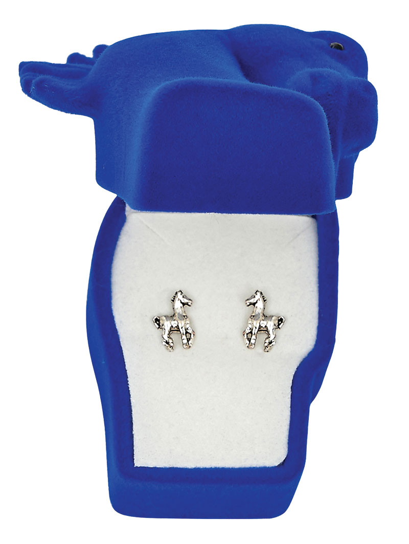 Prancing Pony Earrings - Asst. Horsehead Gift Box