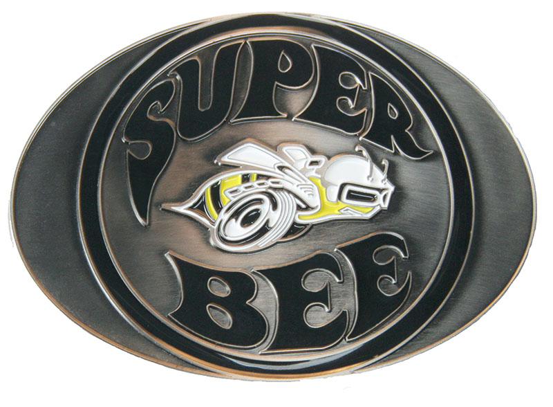 Closeout Super Bee Buckle- 4 x 3  d