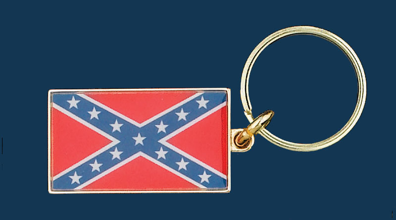 Rebel Key Ring, Made in the USA