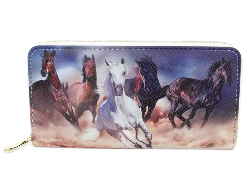 Wallet - Galloping Horses - Ladies