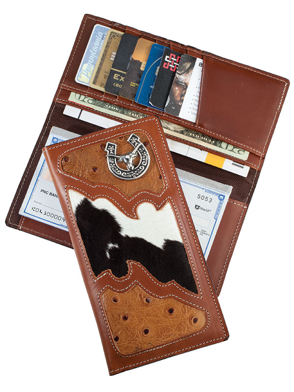 Available around August  Rodeo Wallet, Steer, Brown, Caguma