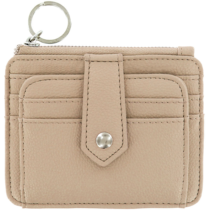 Special  - ScanSafe Card Case, Key Ring,  RFID protection, TAUPE  d