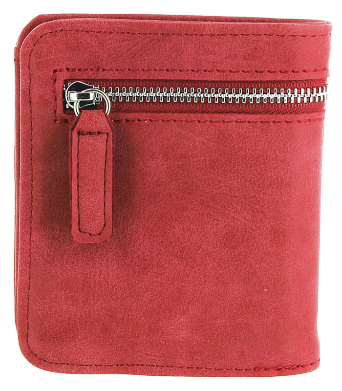 20% OFF - Closeout  - ScanSafe Compact Wallet,  RFID protection, RED d