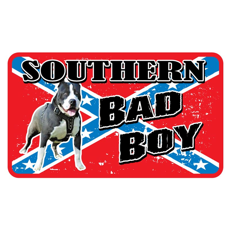 Magnet - Southern Bad Boy & Rebel Flag - USA Made