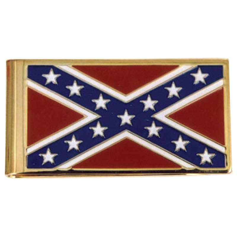 Money Clip - Rebel Flag