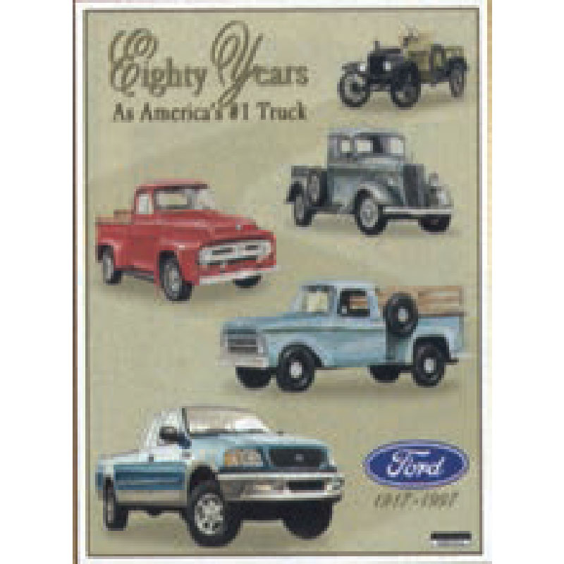 Tin Sign - Ford 80 Years