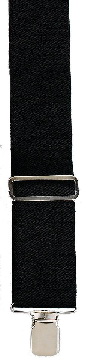 Suspenders, Made in the USA - BLACK