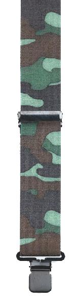CAMOUFLAGE  suspenders, Made in the USA