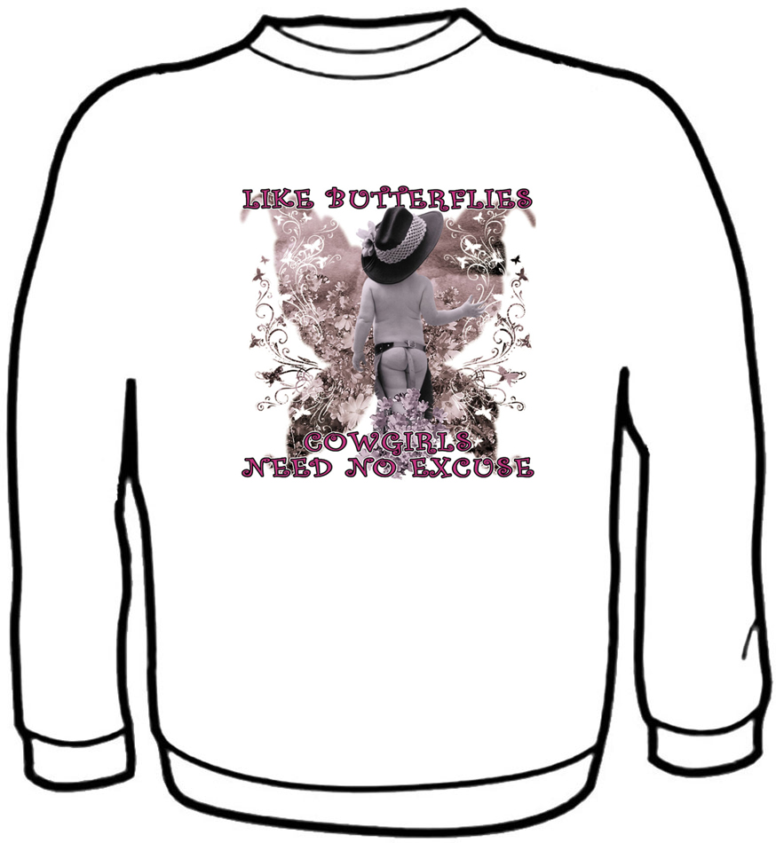Like Butterflies Sweatshirt Kids