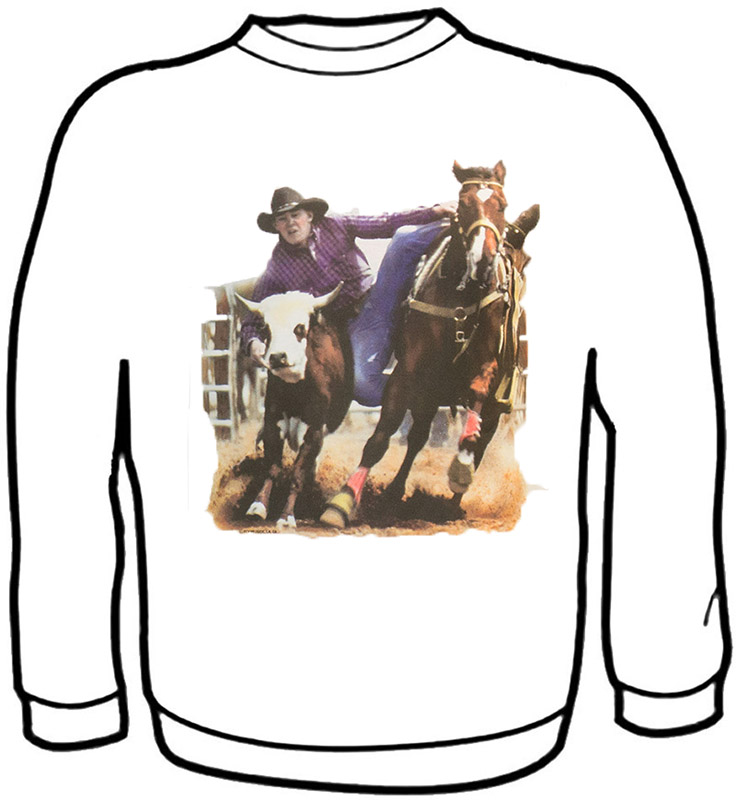 Cow Roping Sweatshirt