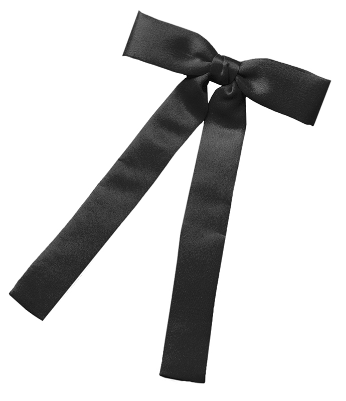 Kentucky Clip-on Tie,   Made in the USA   *BLACK