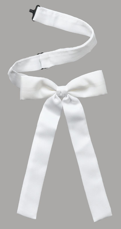 25% OFF  Kentucky Colonel Tie/band,   Made in the USA *WHITE