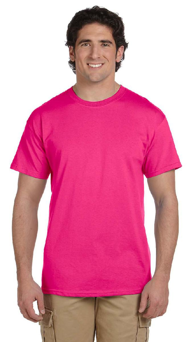 63 - 81% OFF - Closeout T-Shirt, Hot Pink, BLANK