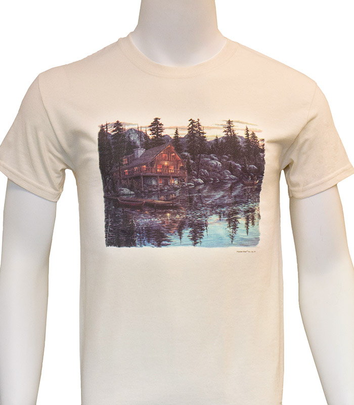 Cabin on the Lake T-Shirt