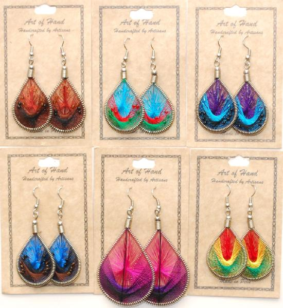 Special  Handmade Threaded Earrings  Assorted Styles