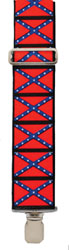 AVAILABLE SOON Confederate  Suspenders, Made in the USA